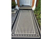 Victorian Mosaic Tilers. Very Affordable Professional Tiling Now 20% off