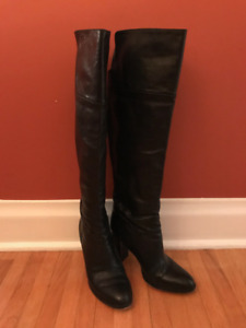 MICHAEL KORS Over the Knee Leather Boots