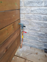 NATURAL GAS LINES INSTALLED