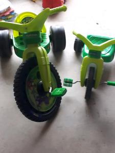 Ninja Turtle Big Wheels