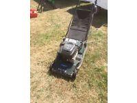 Petrol lawn mower hayter harrier 48