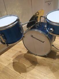 Burswood childrens drum kit - needs tweaking