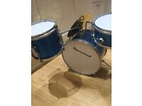Burswood childrens drum kit - needs tweaking