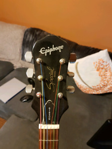 Gibson epiphone les Paul with fender amp