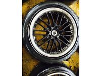 "18"" INOVITE ALLOY WHEELS BMW 1 SERIES 3 SERIES 5 SERIES SET OF 4 he. Db"