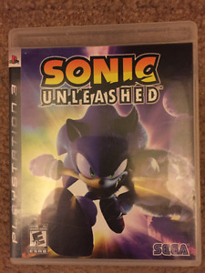 Sonic Unleashed for the Playstation 3