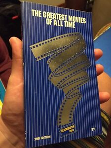 Blockbuster video greatest movies of all time book