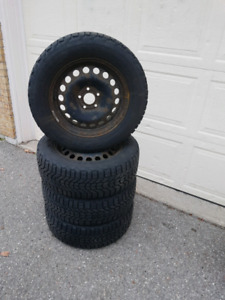 Snow Tires: 225/60R16/98S Firestone Winterforce