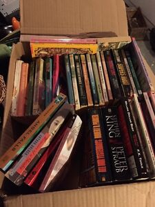 4 boxes full of books St. John's Newfoundland image 1