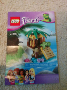 Lego Friends Pet Turtle set, like new condition, $10