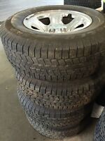 Tim and tire 265/70R17