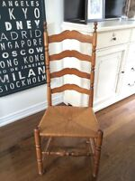 Pottery barn style chairs
