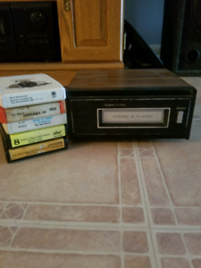 Realistic 8-track Player