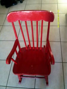 Vintage Kids Rocking Chairs