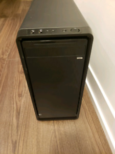 Rosewille MATX computer case with EVGA 450w power supply