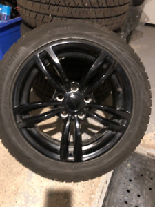 BMW mags and winter tires 225/50-17