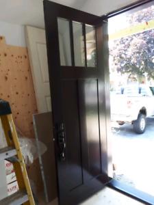 Beautiful 8 foot exterior door