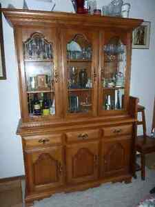 Salem Maple China Cabinet