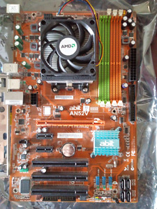 Abit AN52V motherboard and AMD chip