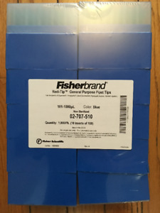 FISHERBRAND REDI-TIP PIPET TIPS (1000 QTY) 02-707-510