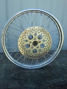 """21"""" spoke front rim with disc"""
