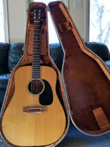 Martin D 18 Acoustic Guitar Vintage (1980)