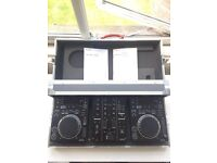 2 X pioneer CDJ 350 1 X DJM 350 mixer and flight case