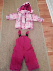 Toddler SNOW SUIT, size 18-24 months, Central Park-Ottawa
