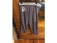 Superdry purple sweat pants L