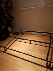 Metal Bed Frame for double-queen size