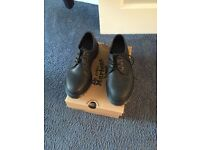 Girls black Dc martens