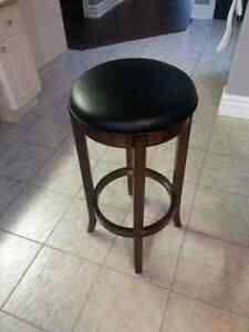 Two 30 inch Swivel Bar stools