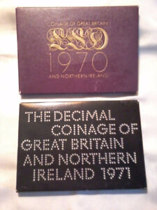 Historic United Kingdom Coinage Proof Sets (1971-1972)