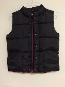 Black Sleeveless Jacket size 10/12
