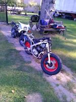 YAMAHA YSR50 FOR PARTS PARTING IT OUT OR SELL IT AS IS