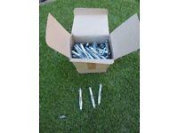 100 - 5 X 72 PLASTERBOARD CAVITY WALL FIXINGS