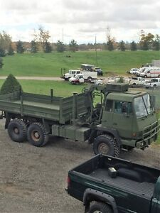 1989 MAN (STEYR) 8.5 TON 6X6 ONLY $13,995