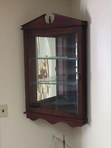 Hand crafter corner shelf