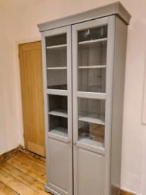 Grey glass door IKEA Liatorp cabinet
