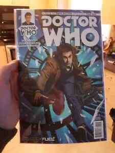 Doctor Who #2.1 Comic Geek Fuel Exclusive