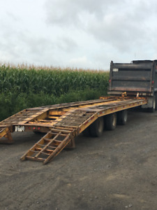 30 Tons Flat Bed Trailer