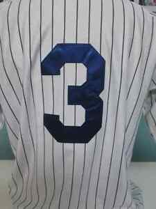 1932 Babe Ruth New York Yankees Pin stripe Jersey NWT