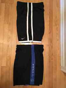 2 PAIR OF NIKE MENS BASKETBALL SHORTS SIZE LARGE