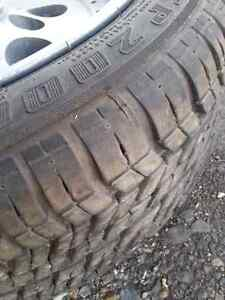 Set of 4, 15 inch tires and rims Stratford Kitchener Area image 6