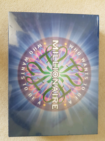 Who wants t be a Millionaire board game NEW/SEALED
