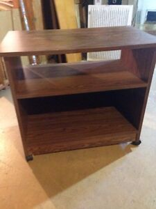 Small table on wheels