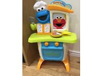 Sesame Street come and plant kitchen/cafe