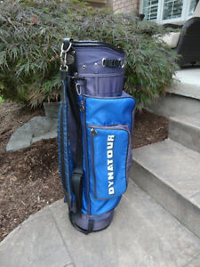 Dynatour Golf Cart Bag - 6 Section with many zippers compartment