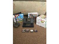 Nintendo DS Lite & 11 games inc. Pokemon, Mario, Lego, Ben 10