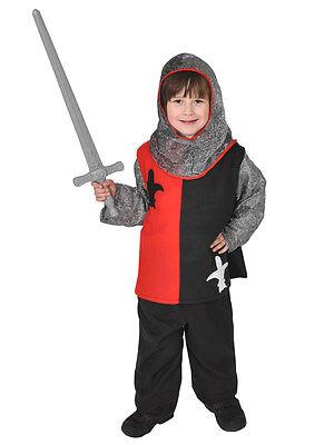 RITTER KIDS M1 KINDER 134/140 KOSTÜM FÜR FASCHING KARNEVAL HALLOWEEN (Kid Ritter Kostüm)